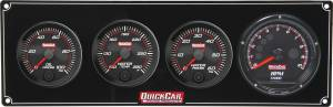 QUICKCAR RACING PRODUCTS #69-3046 Redline 3-1 Gauge Panel OP/WT/WP w/Recall Tach