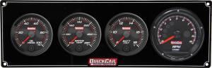 QUICKCAR RACING PRODUCTS #69-3047 Redline 3-1 Gauge Panel OP/WT/Volt w/Recall Tach