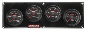 QUICKCAR RACING PRODUCTS #69-3242 Redline 3-1 Gauge Panel OP/WT/FP w/2-5/8in Tach