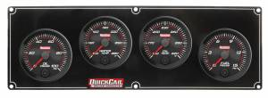 QUICKCAR RACING PRODUCTS #69-4021 Redline 4-1 Gauge Panel OP/WT/OT/FP