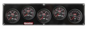 QUICKCAR RACING PRODUCTS #69-4256 Redline 4-1 Gauge Panel OP/WT/FP/WP w/2-5/8 Tach