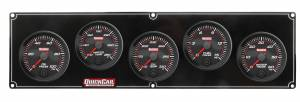QUICKCAR RACING PRODUCTS #69-5036 Redline 5 Gauge Panel OP/WT/OT/FP/WP