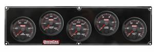 QUICKCAR RACING PRODUCTS #69-5037 Redline 5 Gauge Panel OP/WT/OT/FP/VOLT