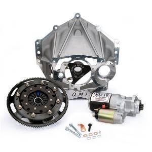 QUARTER MASTER #10038590ZZ Bellhousing Kit Chevy Crate Engine 5.5in V Dri