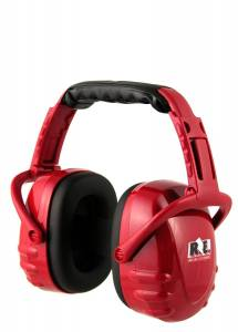 RACING ELECTRONICS #HP-005 Hearing Protector Red