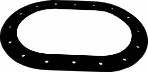 RCI #111 Gasket Oval Fill Plate 16-Hole for C/T Cells