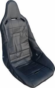 RCI #8001S Seat Cover Poly Hi-Back Black