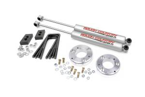 ROUGH COUNTRY #568.2 2.5-inch Suspension Level Front End Leveling Kit * Special Deal Call 1-800-603-4359 For Best Price