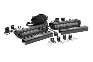 ROUGH COUNTRY #70697 Dual 8-inch Black Series CREE LED Grille Lights