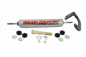 ROUGH COUNTRY #87371.2 Steering Stabilizer for