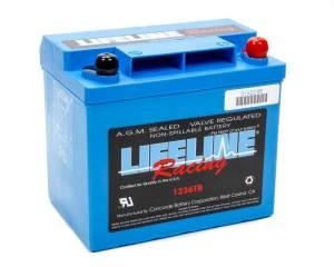 LIFELINE BATTERY #1236 Power Cell Battery 7.625x5.25x6.875