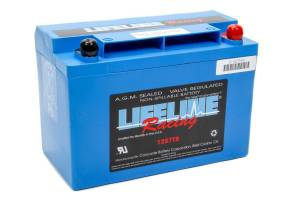 LIFELINE BATTERY #LL-1257TB Power Cell Battery 9.75x5.25x6.875