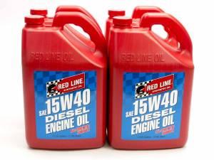 REDLINE OIL #21405 CASE/4 15W40 Diesel Oil Case/4- Gal