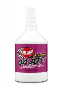 REDLINE OIL #RED30504 Synthetic D4 ATF (Quart)