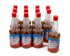 REDLINE OIL #60302 CASE/12 Fuel System Anti-Freeze/ Water Remover Case/12-12