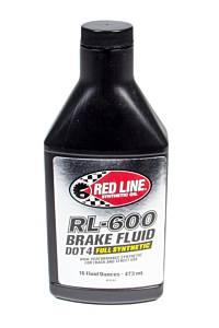 REDLINE OIL #RED90402 RL-600 Brake Fluid 16oz
