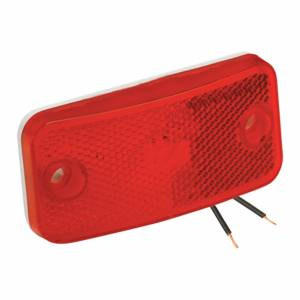 Clearance Light #59 Red with Reflex w/White Base