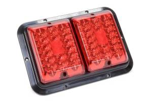 REESE #47-84-610 Taillight #84 LED Surfac e Mount Red/Red Blk Base