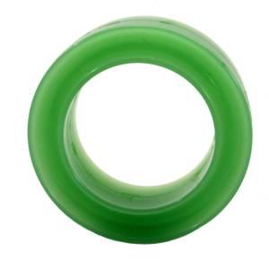RE SUSPENSION #RE-SR250B-1000-70 Spring Rubber Barrel 70D Green