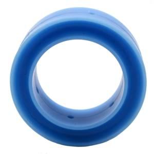 RE SUSPENSION #RE-SR250B-1000-90 Spring Rubber Barrel 90D Blue