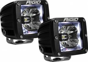 RIGID INDUSTRIES #20200 LED Light Pair Radiance Pod White Backlight