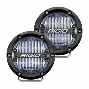 RIGID INDUSTRIES #36110 LED Light 360 Series 4in SAE Fog Beam Pair