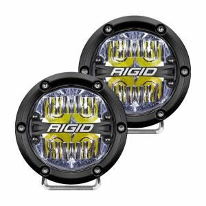 RIGID INDUSTRIES #36117 LED Light 360 Series 4in Drive Beam  Pair