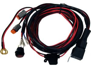 RIGID INDUSTRIES #40196 Wiring Harness For Pair D2 Series Lights
