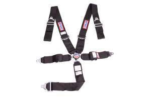 RJS SAFETY #1034901 5 PT Harness System Q/R Black Ind Wrap 3in Sub