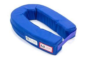 RJS SAFETY #11000503 Neck Collar Horseshoe Blue SFI