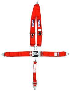 RJS SAFETY #1125404 5-PT Harness System RD Shoulder MT 2IN Sub