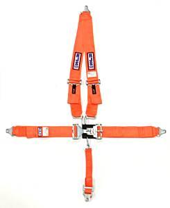 RJS SAFETY #1125405 5-Pt Harness System ORG Shoulder Mount 2in Sub