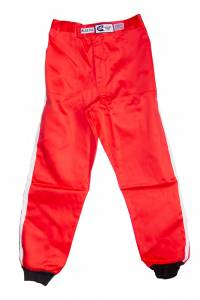RJS SAFETY #200020405 Pants Proban S/L LG Red SFI-1