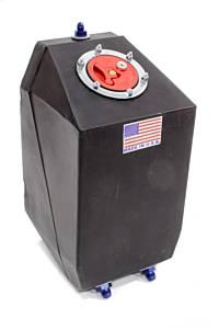 Fuel Cell 4 Gal Blk Drag w/Aircraft Cap