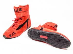 RJS SAFETY #500010456 Redline Shoe High-Top Red Size 10 SFI-5