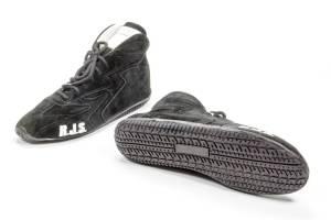 RJS SAFETY #500020161 Redline Shoe Mid-Top Black Size 15 SFI-5