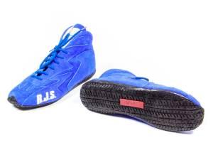 RJS SAFETY #500020355 Redline Shoe Mid-Top Blue Size 9 SFI-5