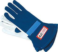 Gloves Nomex D/L LG Blue SFI-5