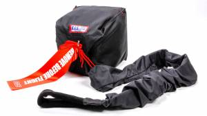 RJS SAFETY #7000201 Qualifier Chute W/ Nylon Bag and Pilot Black