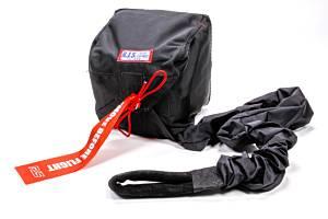 RJS SAFETY #7001505 Pro Mod Chute W/ Nylon Bag and Pilot Black