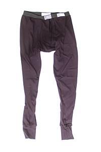 RJS SAFETY #800030105 FR Underwear Bottoms Blk Large SFI 3.3