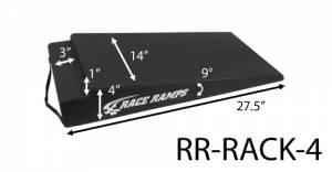 RACE RAMPS #RR-RACK-4 4in Rack Ramps Pair