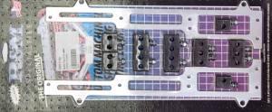R AND M SPECIALTIES #1110-P Spark Plug Wire Loom Pontiac Polished