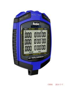 ROBIC WATCHES #68899 Stopwatch Robic SC-899 Triple Timer