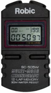 ROBIC WATCHES #SC-505W Stopwatch
