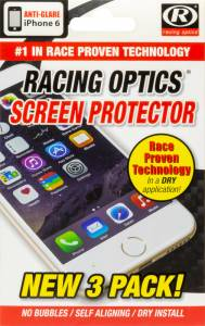 RACING OPTICS #1X-ROAG135-IP6 Screen Protectors For iPhone 6 * Special Deal Call 1-800-603-4359 For Best Price