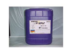 ROYAL PURPLE #5041 Synthetic Racing Oil XPR 5-Gallon (10W40)