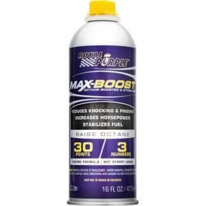 ROYAL PURPLE #11757 Max Boost Octane Boost 16oz Bottle