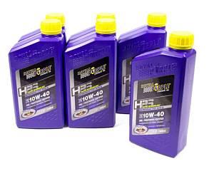 ROYAL PURPLE #36140 10w40 HPS Multi-Grade Oil Case 6x1 Quart