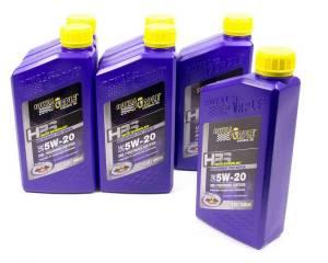 ROYAL PURPLE #36520 5w20 HPS Multi-Grade Oil Case 6x1 Quart